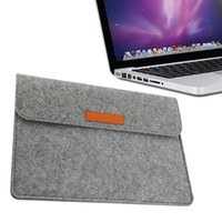 Wholesale High Quality Wool Felt Laptop Sleeve Bag Case For MacBook Pro inch hot new
