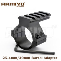 barrel adapter - Armiyo mm mm Ring mm weaver Picatinny Rail Barrel Mount Adapter fixed Flashlight laser Scope Hunting