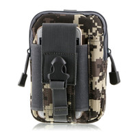 Wholesale Durable nylon waterproof Bag jogging wear belts tactical military fans outdoor Waist Bag Pack camouflage tactical water resistant bag