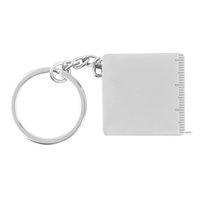 Wholesale 70 cm Portable full metal ruler tape measure multifunctional keychain key chains key chain key ring