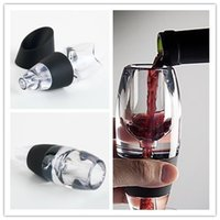 Wholesale Mini Red Wine Aerator Filter Magic Decanter Essential Wine Quick Aerator Wine Hopper Filter Set Wine Essential Equipment