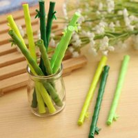 bamboo stationary - Cute Pens Bamboo Shape Gel Pens Pen Stationary Home Desktop Decorations Office School Writing Pens