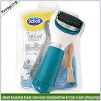 Wholesale Scholl foo file Scholl velvet smooth express pedi and Amope pedi perfect electronic Foot file VS Scholl Gel Activ Scholl wet dry