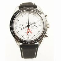 apollo quartz - New apollo Xlll SNOPPY Man speeed master Watches Mens quartz Movement Chronograph Moon om mens watches