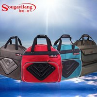 Wholesale Top Quality Thicken Waterproof Multi Purpose Canvas Fishing Bags Layers Red Blue Gray Fishing Tools Backpack Tackle Bag
