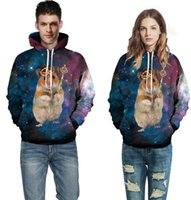 astronaut model - Factory direct explosion models D Prince of Mouse pullovers Digital printing couple models sweatshirt Panda Astronaut sweater
