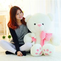 batteries baby dolls - 50cm Teddy Bear Plush Toy Big Embrace Bear Mother and Baby Bear Doll Lovers Christmas Gifts Birthday gift