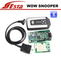 Cheap 2016 with bluetooth wow snooper 5.008R1 update to 5.008R2 software tcs cdp pro for cars trucks diagnostics better than cdp pro