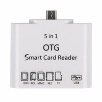 Wholesale 2016 hot in OTG Card Reader Connection Kit For Micro USB Android Cellphones