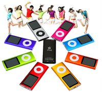 Wholesale Hot popular professional NEW COLORS GB GB FM VIDEO TH GEN MP3 PLAYER dropshipping