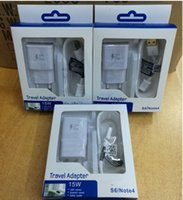 Wholesale Quick Charger in i Kit EU US UK Fast Wall Charger Micro USB Cable Home Travel Adapter Cables for samsung s6 s7 Edge note With Package