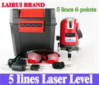 Wholesale 5 lines points laser level degree rotary cross laser line level with outdoor mode and tilt mode H210601
