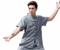 Wholesale artes marciais men s shirt chinese traditional men clothing kung fu uniform wing chun chinese shirt color