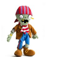 best zombie games - New Arrival Best Selling PVZ Flag Pirate Zombie Soft Toys