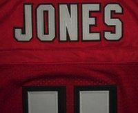 white falcon - Mens Atlanta Red Color Elite American Football Jerseys Falcons Elite Jerseys Ryan Jones Hester Size