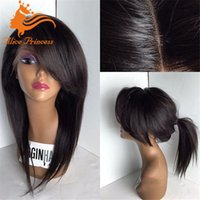 arrival bobs - New arrival Brazilian fashion sexy bob wigs natural hair line Heat Natural Straight human hair wig for women