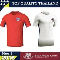 Wholesale New Chile soccer jersey ALEXIS home away VALDIVIA VIDAL H SUAZO MEDEL top quality Chile football shirt soccer jersey