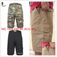 Wholesale Tactical Short Pants EMERSON All weather Outdoor Shorts Sport Camouflage Jams Multicam TAN OD BLACK ACU WL