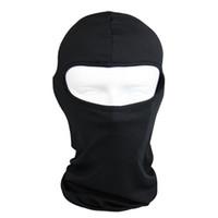 Wholesale WEST BIKING Black Balaclava Mask Windproof Dynamic Full Face Neck Guard Ninja Headgear Hat Riding Outdoor Sports Cycling Masks