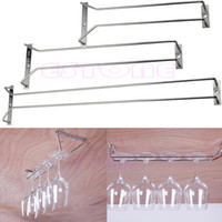 bar wine rack cabinet - New CM Wine Glass Rack Hanging Stemware Holders Under Cabinet Home Bar