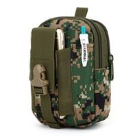 Wholesale Outdoor Sport Tactic Waist Bag Multi purpose Mini Saddlebag Men Hunting Travelling Fishing Belt Wear Shoulder Bags