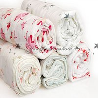 Wholesale Lovely Aden Anais Muslin Cotton Baby blankets Baby Towel Newborn blanket baby Swaddle wrap aden anais muslin swaddling blankets M275