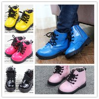Wholesale Children Martin boots colors sizes for boy girl Autumn winter warm boots kids boots Martin stivali Martin bottes