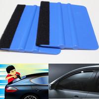 Wholesale Blue color Plastic Car Sticker Vinyl Film Wrapping Tools Plastic PP Squeegee cm cm DHL