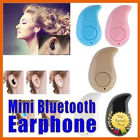 Wholesale Mini Bluetooth Earphone Wireless Music Sports Stereo In Ear Headset Earpiece Earbuds Universal For iPhone Android Phones