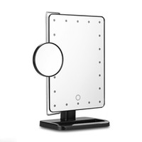 best magnifying mirror - 2016 Best selling Lighted LED Makeup Mirror X Magnifying led lights Cosmetic Mirror