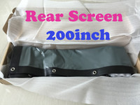 Wholesale 2016 Factory inches Rear projector Screen Promotions high quality Projection Screen Portable Screen For All Projector