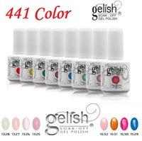 nail polish nail polish 15ML Hight quality Harmony Gelish 441 Colors 15ml Gel Polish Nail Accessories UV Color Gel Soak Off Nail Gel for Fedex b331