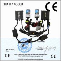 achat en gros de h7 xénon caché 35w ballast-Sécurité CCT 35W 4300K Certification CE (2pcs bulbe HID et ballast 2pcs) HID Xenon Kit H7