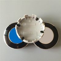 Wholesale 68mm Rear ABS Wheel Center Caps Resin Wheel Covers for BMW Pins M Caps Auto Parts