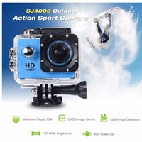 Wholesale SJ4000 hd Sport camera P Full HD DVR video Action Camera M Waterproof Action Video Camera