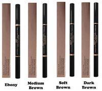 Wholesale Brow Definer Makeup Skinny Brow Pencil Crayon A Sourcils Fin Soft Brown Medium Brown Dark Brown
