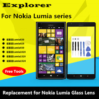 Wholesale Replacement For Nokia Lumia N N730 XL New Front Outer Glass Lens Panel