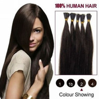 Wholesale quot quot Stick Tip Remy Human Hair Extensions hair extension