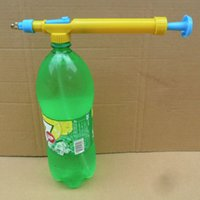 Wholesale Mini Juice Bottles Interface Plastic Trolley Gun Sprayer Head Water Pressure Hot Search