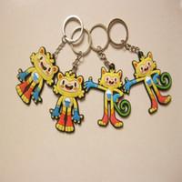 Wholesale Zorn toys Olympic Games Brazil Rio de Janeiro mascot Vinicius Tom Key Rings Keychain souvenir