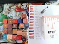 Wholesale 21 colors Kylie Lip Kit by kylie jenner Lipstick Kylie Lip Gloss liquid lipstick Matte lipliner Make up Cosmetics DHL