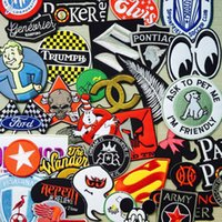 Wholesale Mix Embroidered Cloth Iron On Patches Sew on Motif Applique Embroidery Cartoon