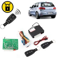 Wholesale Universal Car Door Entry System Locking Remote Control Central Keyless Lock Kit Unlock Trunk Release CAL_105