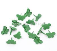 Wholesale Green Pastel Butterfly Brads Scrapbooking Embellishment E10174