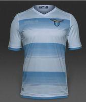 Wholesale Lazio top new Jerseys CANDREVA DJORD JEVIC F ANDERSON LULIC L BIGLIA camisa away men white Soccer Football