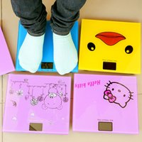 Wholesale 40 piece cute cartoon home electronic weighing weighing precision weighing human baby mini smart health scales