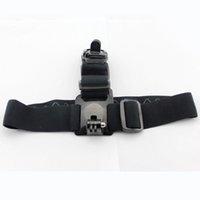 Wholesale Sports Action Camera GoPro Accessories Head Strap Double Mount Adjustable Headstrap Mount Belt Anti Slide Glue Mount For GOPRO HERO