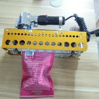 Wholesale ZS100 Portable chain dynamic Continuous sealing machine composite film Heavy bag sealing machine Plastic PP PE PET film sealing machine