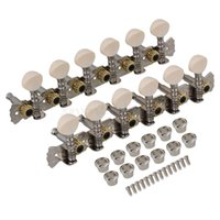 Wholesale Chrome L6R String Acoustic Guitar Tuning Pegs Machine Heads String Tuner