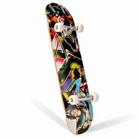 Wholesale New Style31 quot x8 quot Maple Wood skateboard Complete BACKFIRE Longboard